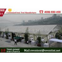 Wholesale Large Transparent Party Tent With Glass Wall , Clear roof marquee For Wedding SGS from china suppliers