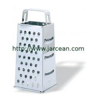 Wholesale kitchen 4-sided cheese grater& zester&box grater from china suppliers