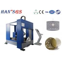 Wholesale Fiber CNC Lampshade Sheet Metal Laser Cutting Machine 1000W High Efficiency from china suppliers