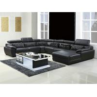 Wholesale 301#;  modern U shape genuine leather sofa set, home furniture,office furniture, living room furniture, Africa sofa; from china suppliers