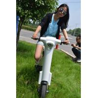 Quality Li-battery 48v Lightweight Folding Electric Scooter With Bluetooth And Led Lights for sale
