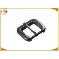 Wholesale Gunmetal Cinch Metal Bag Buckle Hardware , Zinc Alloy Handbag Metal Fittings from china suppliers