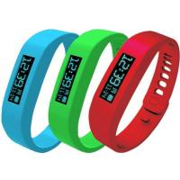 Wholesale Double bright screen,new high quality silicone sports bluetooth led bracelet from china suppliers
