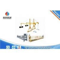 Wholesale 2 x 1.8 kw Suspended Scaffolding Single Phase Suspended Platform Cradle ZLP800 from china suppliers