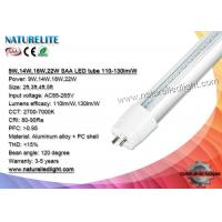 Wholesale 9W 14W 18W 22W SAA Led Tubes Lights , Commercial Home led fluorescent tube light from china suppliers