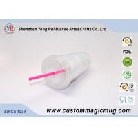Wholesale Single Wall Stadium Cup Plastic Straw Cup ODM Personalized Design from china suppliers