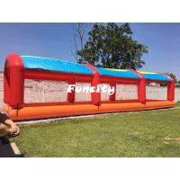 Wholesale Kids Outdoor Colorful Mini Inflatable Water Pools With Tent Cover 15 L * 4 W from china suppliers