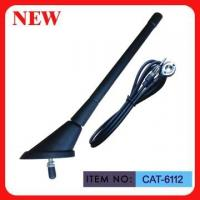 """Wholesale ISO9001 Top Mounted AM FM Car Antenna Spring Mast 7"""" Black Plastic For Car from china suppliers"""