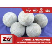 Wholesale High Carbon Rail Steel Material 125mm Forged Grinding Media Steel Balls For Ball Mill from china suppliers