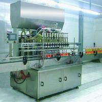 Wholesale Quantitative Automatic Lube Oil Filling Machine 2000×1300×2800MM for 5L PET Bottle from china suppliers