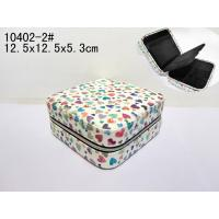 Wholesale Square Small Recyclable Luxury Makeup Case Durable PVC Leather Cosmetic Box from china suppliers