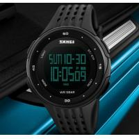 Wholesale SKMEI 1219 PC + PU Band Digital Men Watch for Outdoor Sport from china suppliers