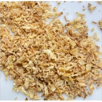 Wholesale Yellow Delicious 30*50mm No GMO Fried Onion Flakes from china suppliers
