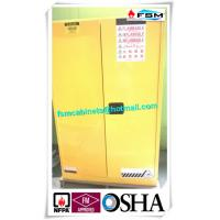 Wholesale Grounding Flammable Storage Cabinets With Double Shelf For Dangerous Goods from china suppliers