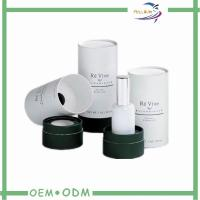 Wholesale Black & White Printing Paper Tube Box , Customized Cosmetic Paper Packaging Box from china suppliers