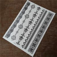 Wholesale Customizable Temporary Black Tatoo Stickers , Team Bride Temporary Tattoos from china suppliers