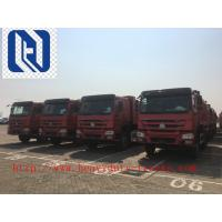 Wholesale HOVA 60 Ton 6x4 Mining Heavy Duty Dump Truck for Transport , Red from china suppliers