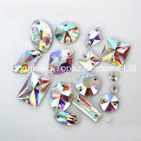 Wholesale Flat Back Crystal Glass beads Sew on Rhinestones Wholesale from china suppliers