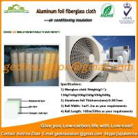 Buy cheap Aluminum Foil Fiber Glass Cloth used as air conditioning insulation material from wholesalers