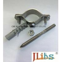 Wholesale Thickness 2.5mm Steel Pipe Clamps Zinc Plated With Hanger Bolt , Paper Carton Package from china suppliers