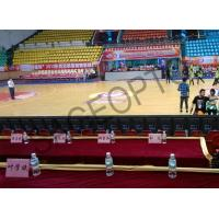 Fast Shipping Full Color Indoor P4 Stadium LED Display SAGEOPTO Delivery 1R1G1B Basketball LED Display