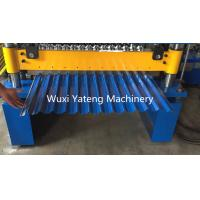 Wholesale Corrugated Profile Roofing Sheet Roll Forming Machine Hydraulic PLC System from china suppliers