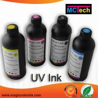 Wholesale Factory Supply Price 1390 no clogging LED UV Curable Ink for Epson DX5 and DX7 printhead from china suppliers