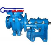 Wholesale 50B-L Low Abrasive Warman Centrifugal Slurry Pump horizontal double shell axial suction from china suppliers