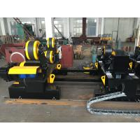 Wholesale Motorized Moving HGZ - 60 Self Adjustable Welding Turning Rolls Coated With PU Wheels from china suppliers