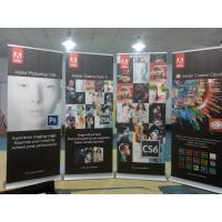 Wholesale Trade Show Retractable Display Banners , Table Top Retractable Banners 80*200cm from china suppliers