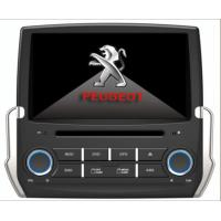 Quality Virtual 6 CD Disc Memory Peugeot Car DVD Player Multimedia for Peugeot 2008 for sale