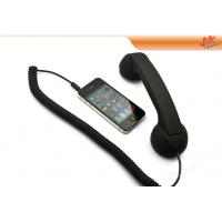 Wholesale Black / Purple / Pink Retro Handset For Iphone, Anti Radiation Handset 22cm*3.5cm*2cm from china suppliers