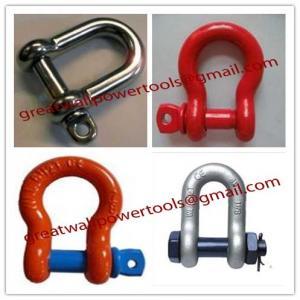 Wholesale Asia Shake-proof shackle,Dubai Saudi Arabia often Heavy shackle from china suppliers