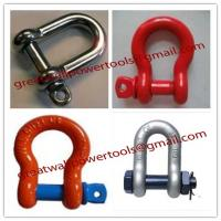 Wholesale Price Stainless steel shackle,manufacture D- Shackle from china suppliers