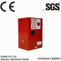 Buy cheap Metal Portab Chemical Storage Cabinet With Single Door / Flammable Safety Cabinet from wholesalers