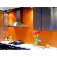 Wholesale Custom Colour Painted Glass Backsplash Heat Strengthened Add Shine from china suppliers