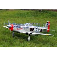 China P51 Outdoor Balsa-Wood 30cc RC Airplane Electric Fight Aircraft on sale
