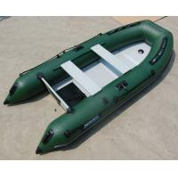 Wholesale 4 Person Hard Bottom Inflatable Boats Heavy Duty Inflatable Boat from china suppliers