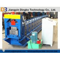 Quality 15 M / Min Automatic Rain Gutter Roll Forming Machine With Plc Control System for sale