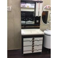 Wholesale Cabinets Modern Square Bathroom vanity Sink Mirror 60cm / Basin from china suppliers