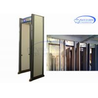 Buy cheap 45 Zones Security Metal Detectors Door , Body Metal Detectors Professional Gate With IP Camera from wholesalers