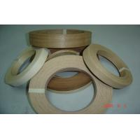 Wholesale Natural Edge Banding Veneer Enviromental Glue , 0.5 mm Thickness from china suppliers