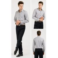 Buy cheap OEM/ODM/Private Label Short Sleeve Business Shirt corporate clothing from wholesalers