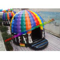 China Crazy Air Music Commercial Bouncy Castles For Dancing Customized on sale