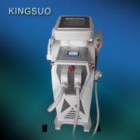 Wholesale 3 handles Multifunctional SHR IPL RF body shaping  Nd yag laser skin rejuvenation machine from china suppliers