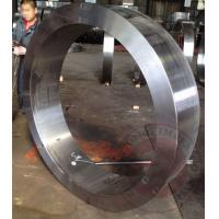 Wholesale DIN ASTM EN Hydraulic Rolled Ring Flange Carbon / Alloy Steel Forgings from china suppliers