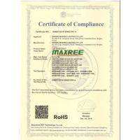 Ningbo Maxree Lighting Co.,Ltd Certifications