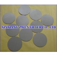 Wholesale Ti Powder Filter Disc from china suppliers