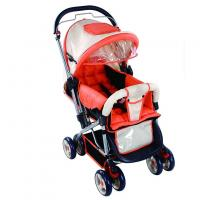 Wholesale Red Light Weight Umbrella Baby Carriage Stroller with Mesh Shopping Bag from china suppliers