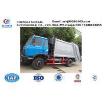 Wholesale 2017s best seller-dongfeng 170hp 10m3 garbage compactor truck for sale, Factory sale 8-12m3 compacted garbage truck from china suppliers